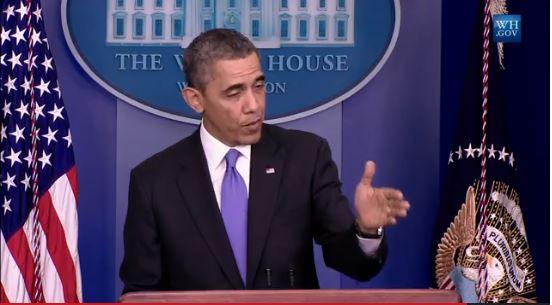President Obama News Conferance