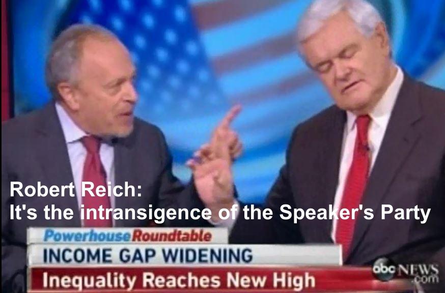 Robert Reich Slaps Down Newt Gingrich3