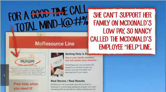 McDonald's Employees Food Stamps Medicaid SNAP