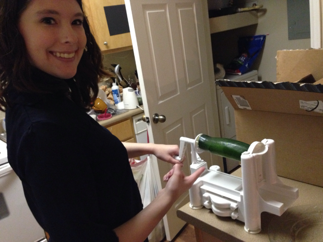 Tuesday Kahl Paderno Spiralizer