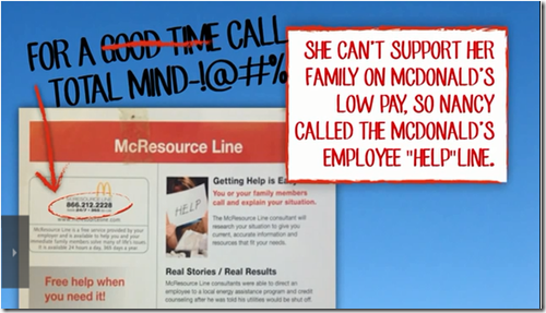 McDonald's Employees Food Stamps Medicaid SNAP Fast Food