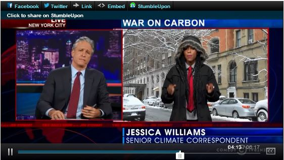 Climate Change Jon Stewart Fox News