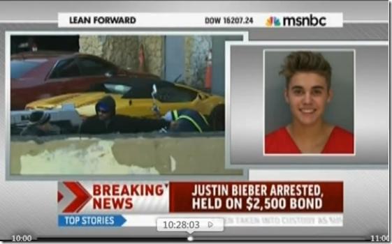 Justin Bieber Arrested