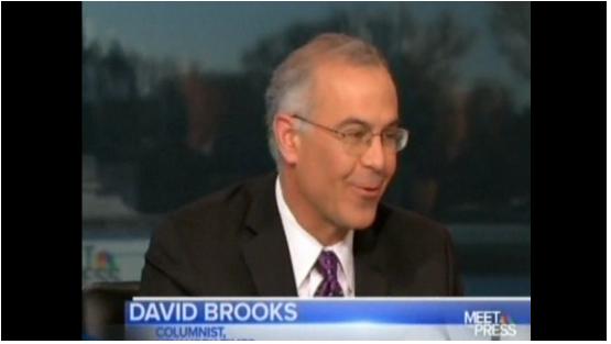David Brooks Meet The Press