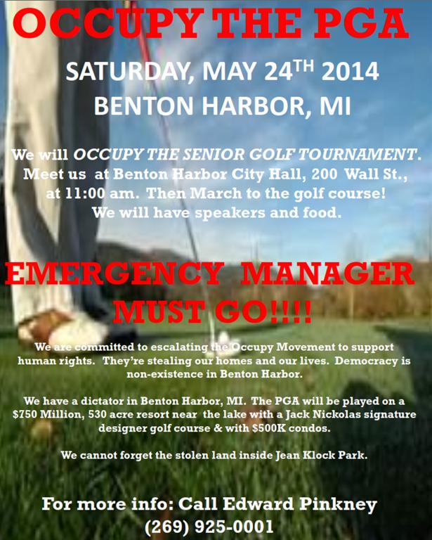 Occupy The PGA