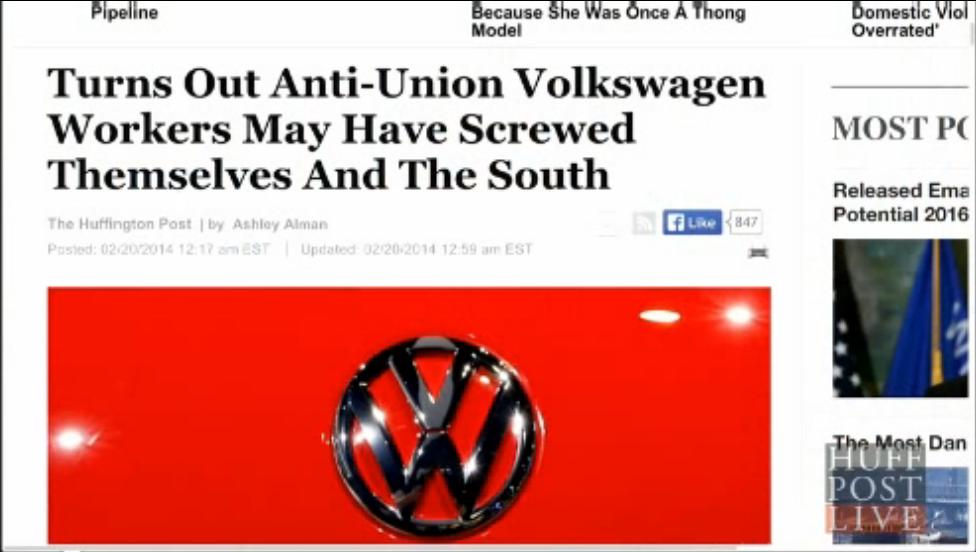 VW Volkswagen union