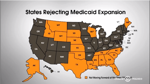 Medicaid Expansion The Daily Show