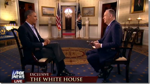 President Onama, Bill O'Reilly, Fox News