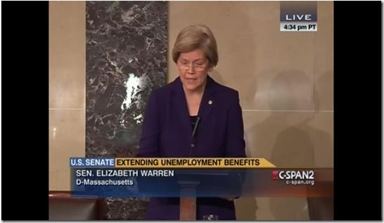 Elizabeth Warren Unemployment Insurance Republican GOP