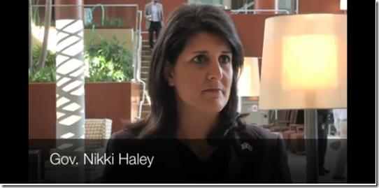 Nikki Haley South Carolina SC Union
