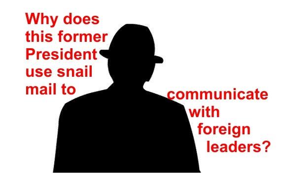 President Jimmy Carter NSA Snail Mail