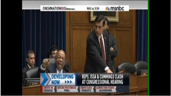 Darrell Issa,Elijah Cummings,IRS
