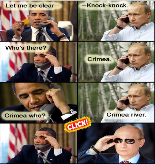 Ukraine Obama Putin