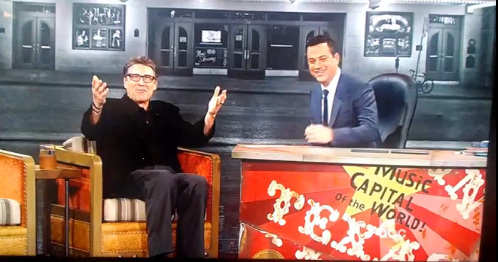Rick Perry Booed Jimmy Kimmel