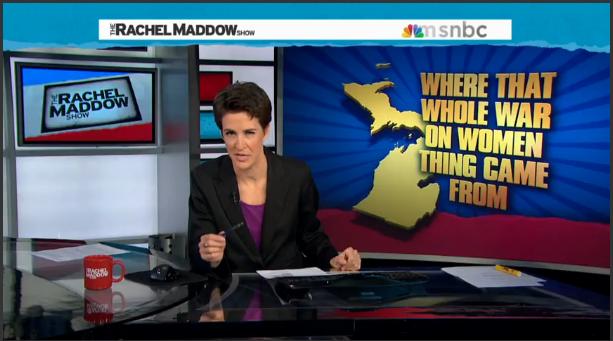 Rachel Maddow, rape insurance,abortion insurance