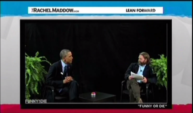 Obama appearance on Between Two Ferns with Zach Galifianakis