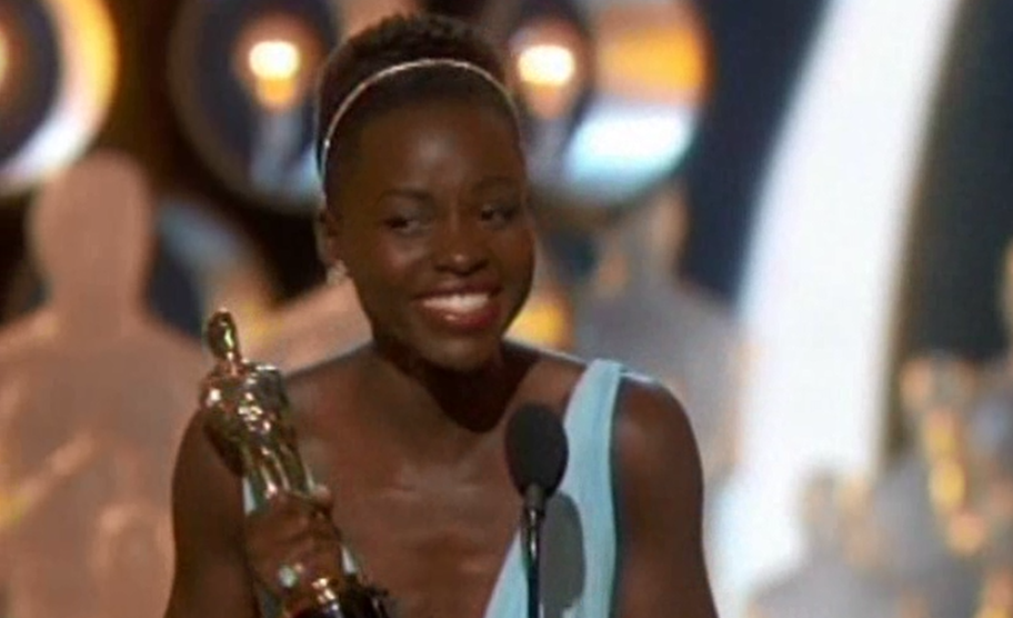 Lupita Nyong'o Best Supporting Actress Oscar Award