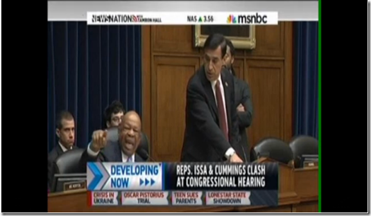 Darrell Issa,Elijah Cummings,IRS,