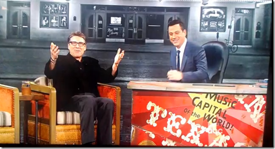 Rick Perry Jimmy Kimmel  Booed