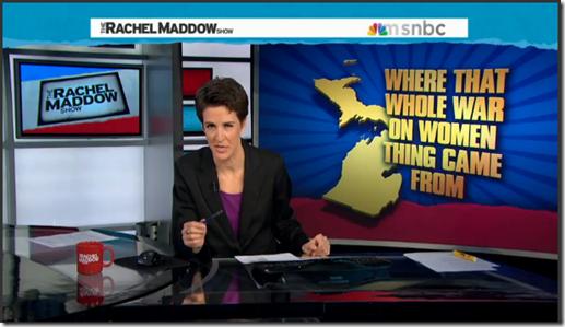 rape insurance Rachel Maddow Abortion Insurance