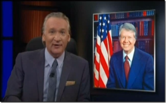 Bill Maher,obamacare,Jimmy Carter,Republicans,Democrrats
