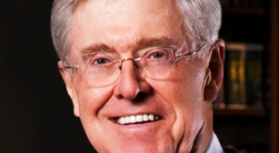 Charles Koch Koch Brothers Wall Street Journal