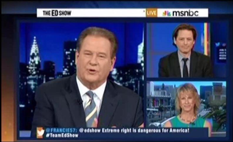 Ed Schultz, John Fugelsang, Heidi Harris