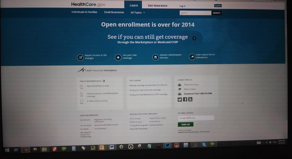 Obamacare enrollment success
