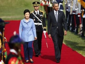 president obama park geun-hye south korea