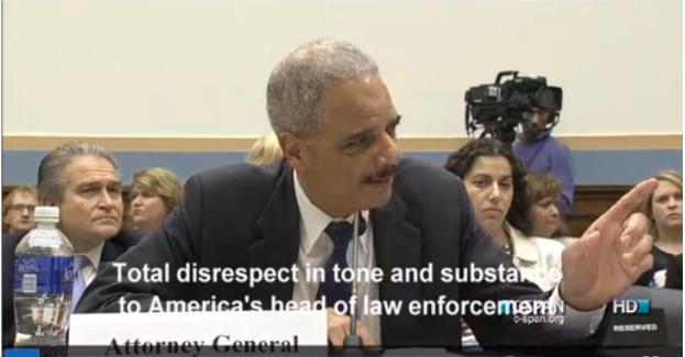 Attorney General Eric Holder Slams Louie Gohmert