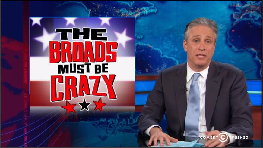 Jon Stewart sexist sexism news media