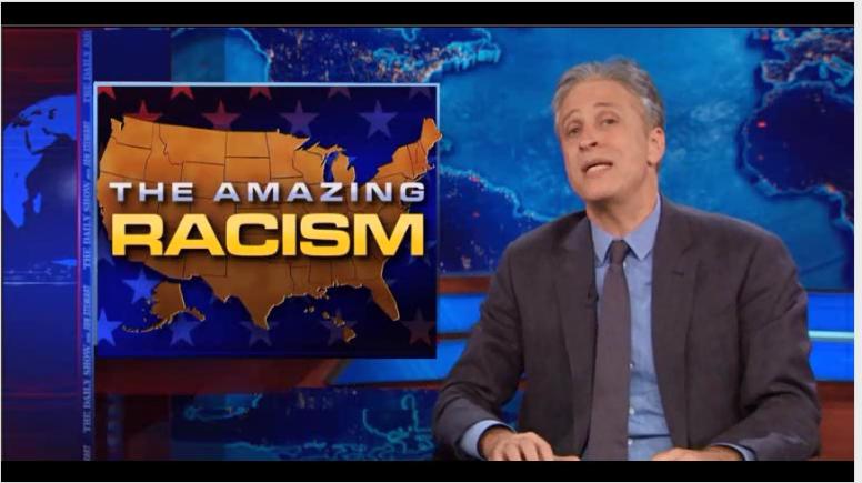 Jon Stewart Amazing Racism
