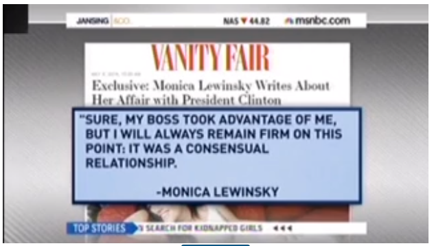 Monica Lewinsky Vanity Fair