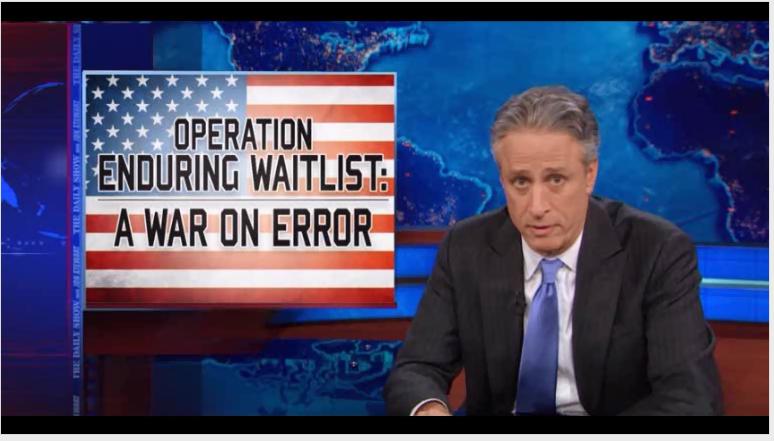 Jon Stewart War On Error