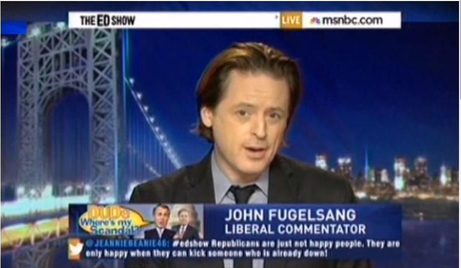 John Fugelsang, Benghazi