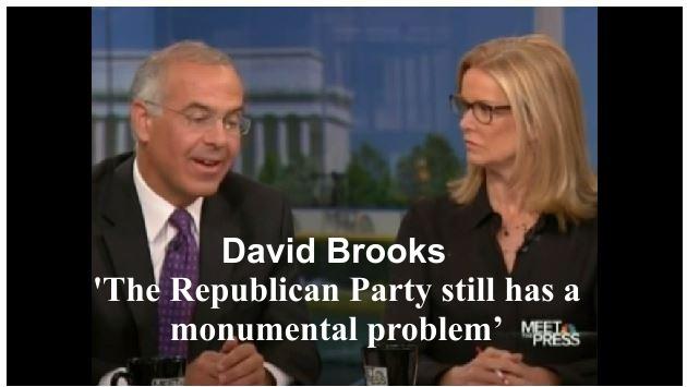 David Brooks Republican Party Monumental Problem