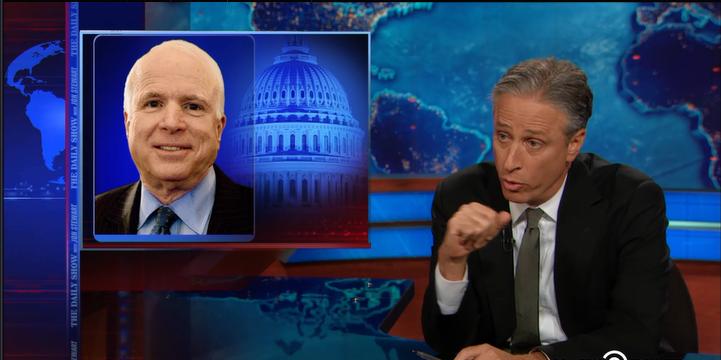 Jon Stewart,Iraq,media,John McCain,Lindsey Graham,Paul Wolfowitz,Paul Bremer