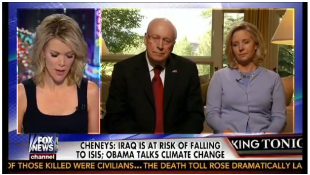 Megyn Kelly, Dick Cheney,Iraq