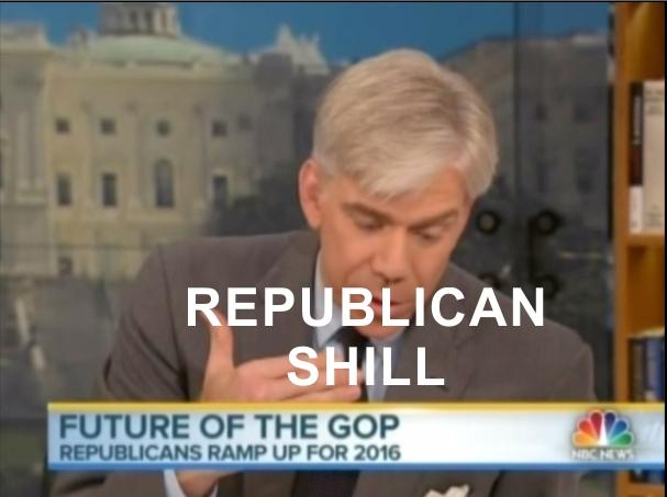 David Gregory Republican Shill