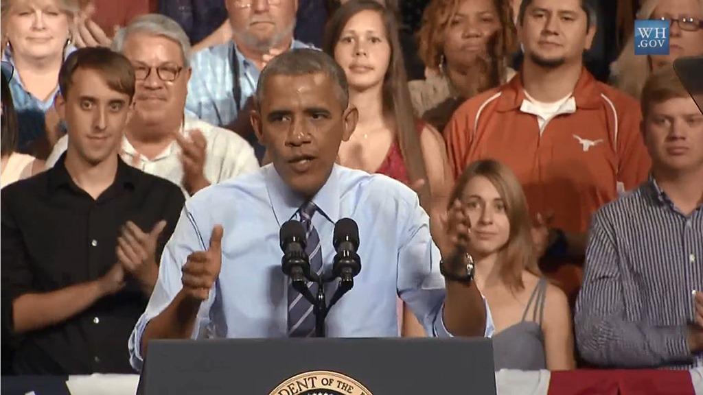 President Obama Speech on The Economy In Austin Texas
