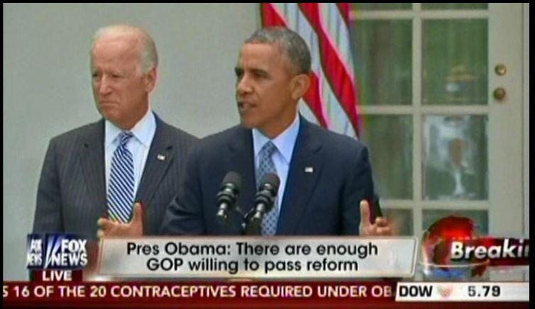 President Obama slams John Boehner for no bills causing executive action