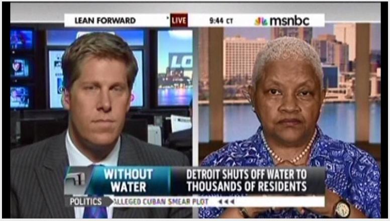 Maureen Taylor Hank Winchester Detroit Water shutoff