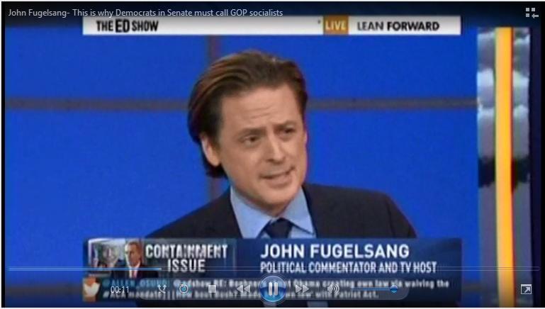 John Fugelsang Socialist Republican GOP