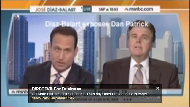 Dan Patrick,José Díaz-Balart,Lieutenant Governor,Texas,Candidate,