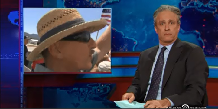 Jon Stewart,mobs,Right Wing,mobs,immigration,protest,Honduras,El Salvador,Guatemala,