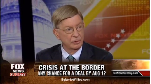 George Will Texas Border Refugees