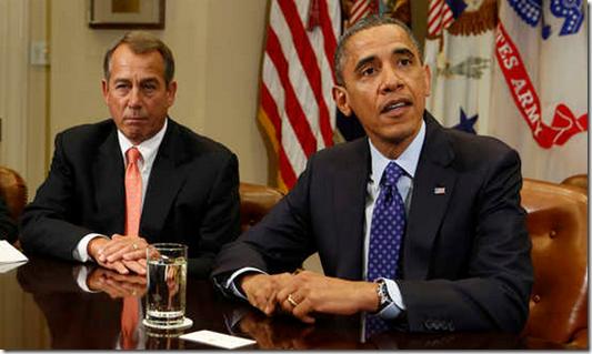 President Obama John Boehner sue