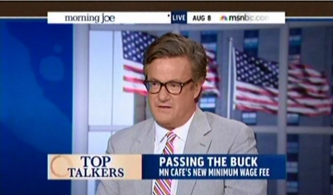 Joe Scarborough Minimum Wage Surcharge