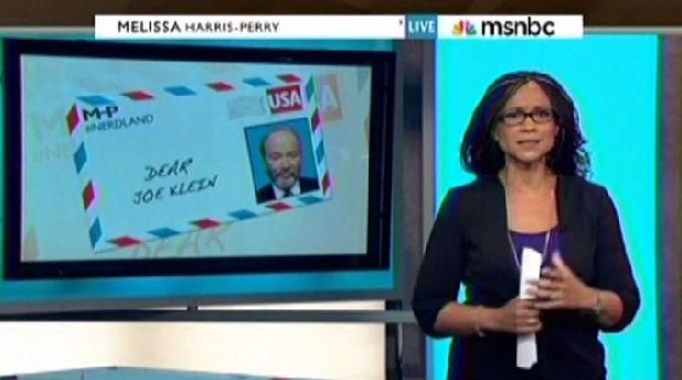 Melissa Harris-Perry Joe Klein
