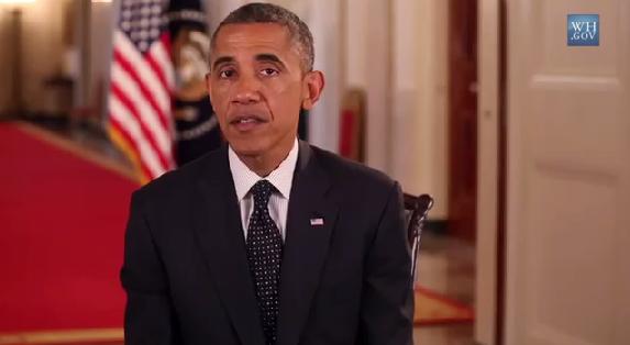 President Obama Weekly Address Iraq